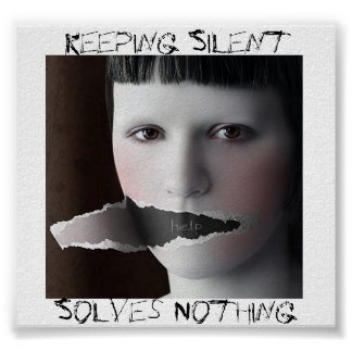 Keeping Silent, Solves Nothing Poster