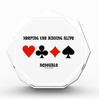 Keeping The Bidding Alive Redouble (Card Suits) Awards