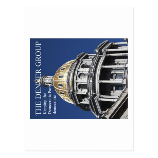 Keeping the Democratic Party democ... - Customized Postcard
