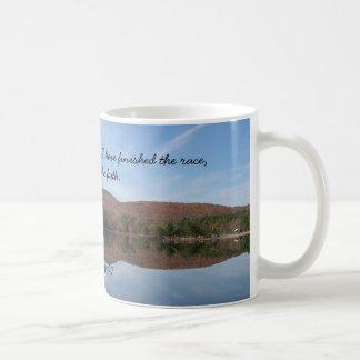 Keeping the Faith Christian Scripture Coffee Mug