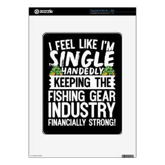 Keeping the Fishing Industry Financially Strong iPad Skins