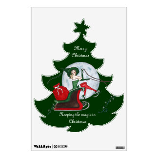 Keeping the Magic in Christmas Wall Sticker