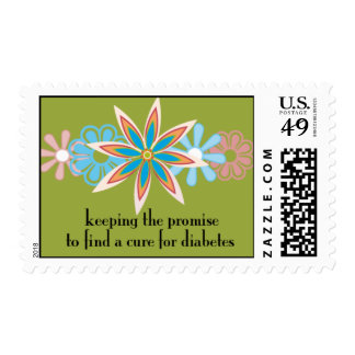 keeping the promise (w/ green background) postage