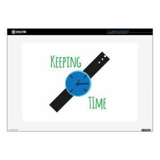 Keeping Time Laptop Decal