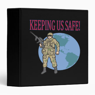 Keeping Us Safe Binder