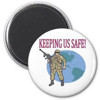 Keeping Us Safe Magnet