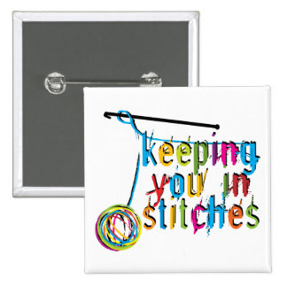 keeping you in stitches-crochet pinback button