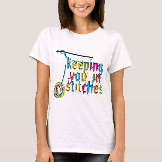 keeping you in stitches-crochet T-Shirt