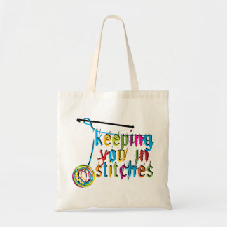 Keeping You In Stitches - Crochet Tote Bag
