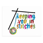 keeping you in stitches-knit postcard