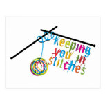 Keeping You in Stitches Post Cards