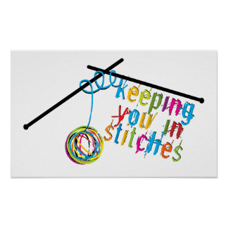Keeping You in Stitches Poster