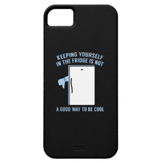 Keeping Yourself In The Fridge iPhone SE/5/5s Case