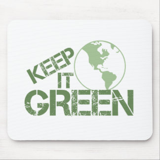 keepitgreen mouse pad