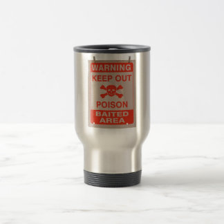 #KeepOut Travel Mug