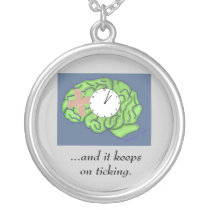 """Keeps on ticking"" necklace"