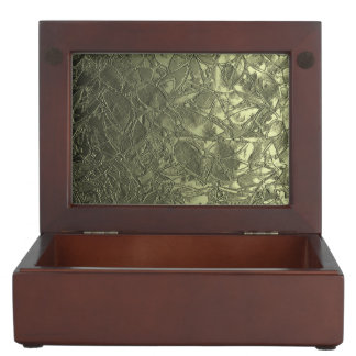 Keepsake Box Floral Relief Abstract