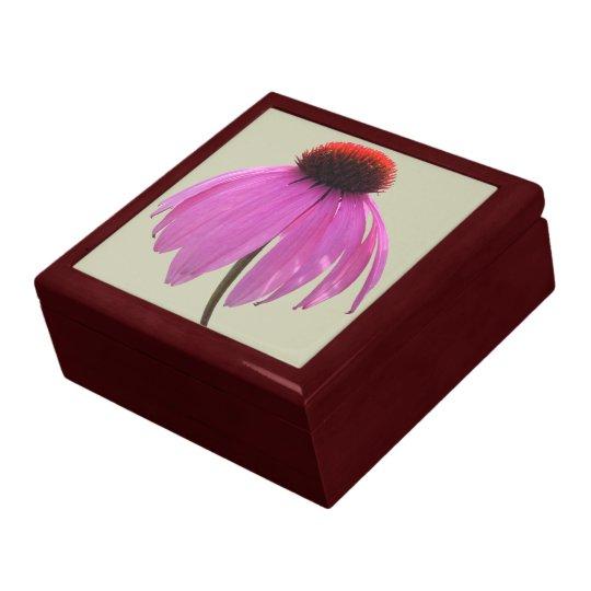 Keepsake Box - Purple Coneflower - Echinacea