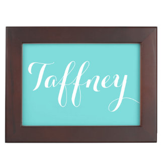 Keepsake Box with Script Lettering