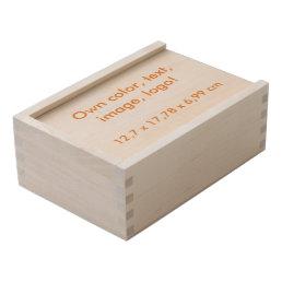 Keepsake Box Wood Large uni White ~ Own Color