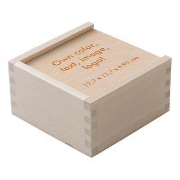 Keepsake Box Wood Small uni White ~ Own Color
