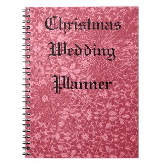 Keepsake Christmas Wedding Planner Notebook