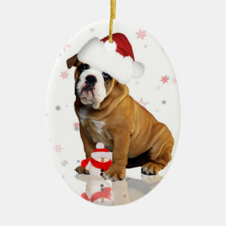 #keepsake del ornamento del árbol del día de adorno navideño ovalado de cerámica