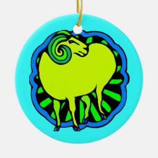 Keepsake Ornament Birthday Chinese Zodiac Ram