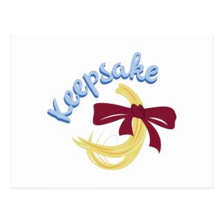 Keepsake Postcard
