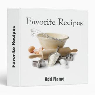 Keepsake Recipes of a Baker (binder)