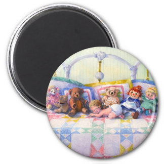 KEEPSAKES by SHARON SHARPE 2 Inch Round Magnet
