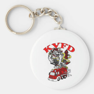 Keeseville Volunteer Fire Department Keychain