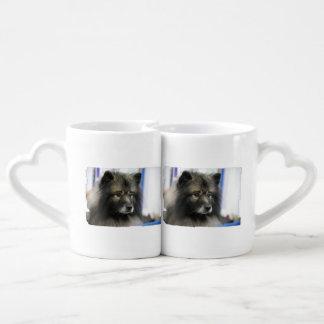 keeshond-5.jpg couples mug