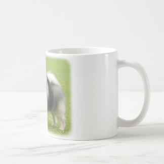 Keeshond 9J28D-01 Coffee Mugs