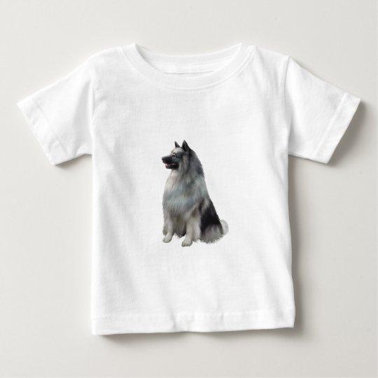 Keeshond (A) Baby T-Shirt