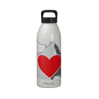 Keeshond Botellas De Agua Reutilizables