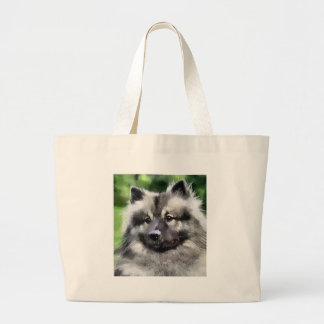 Keeshond Art Gifts Tote Bags
