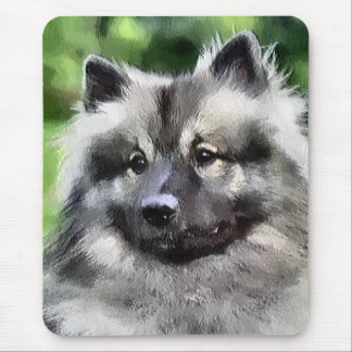 Keeshond Art Gifts Mouse Pad