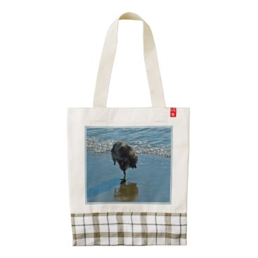 Beach Themed Keeshond Ballet Zazzle HEART Tote Bag