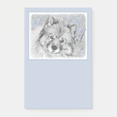 Keeshond (Beth) Post-it Notes