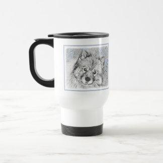 Keeshond (Beth) Travel Mug
