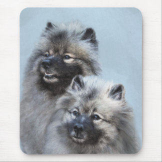 Keeshond Brothers Mouse Pad