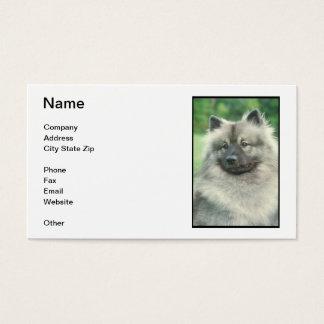 Keeshond Business Card