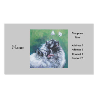 Keeshond Business Card