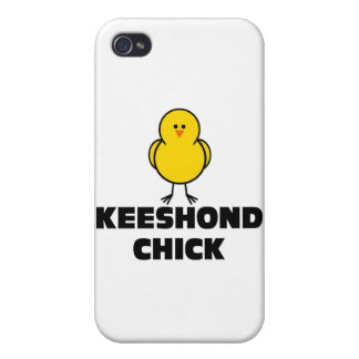 Keeshond Chick iPhone 4 Cover