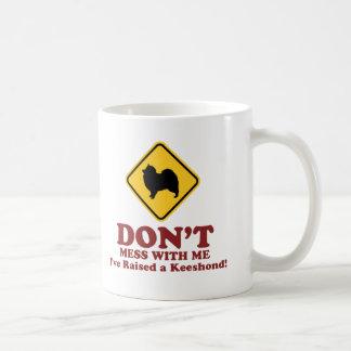 Keeshond Classic White Coffee Mug