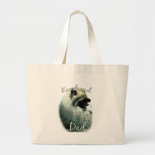 Keeshond Dad 2 Bags