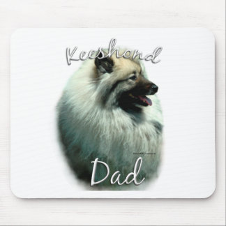Keeshond Dad 2 Mouse Pad