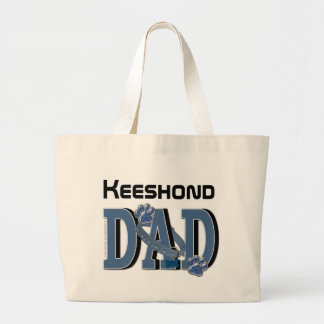 Keeshond DAD Canvas Bags