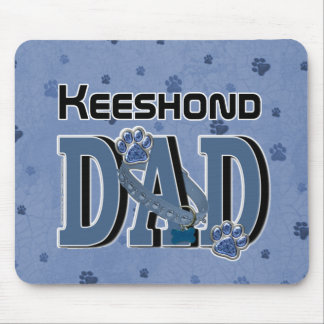 Keeshond DAD Mouse Pad